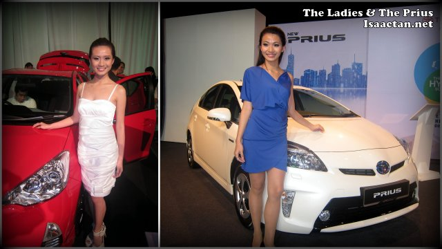 Sexy Girls at Toyota Media Launch