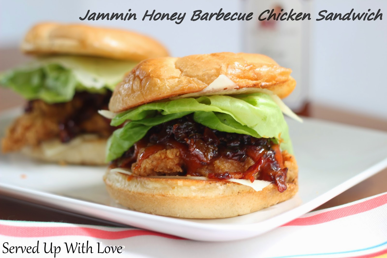 Served Up With Love: A Saucy Mama Recipe: Jammin Honey ...