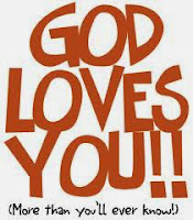 Remember, God loves you and is just a prayer away!