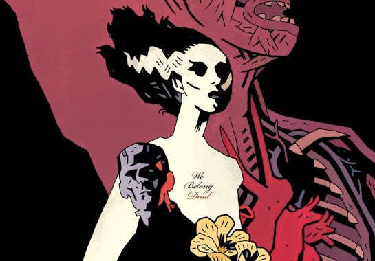 The Bride of Frankenstein by Mike Mignola & Mondo - Undead Monday