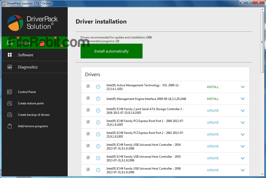 driverpack solution full download 2018