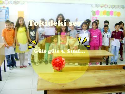 3. sınıf arkadaşları ve öğretmeni
