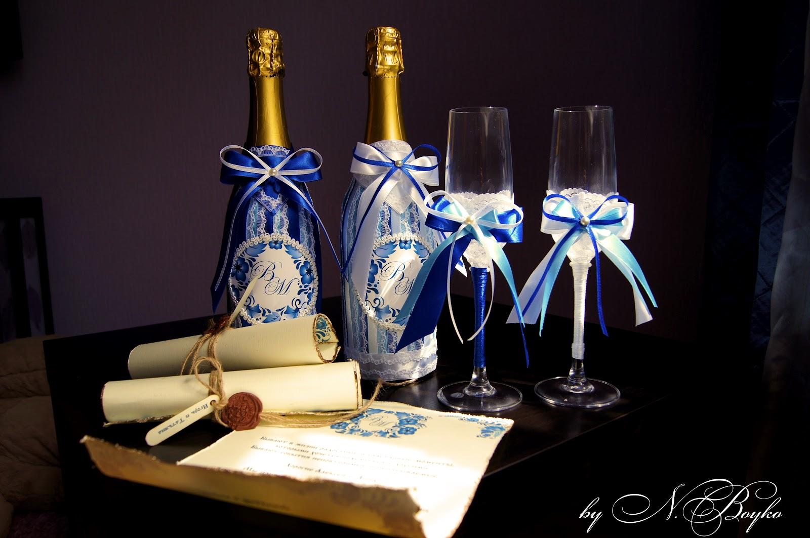 Подарок гжель на свадьбу 43