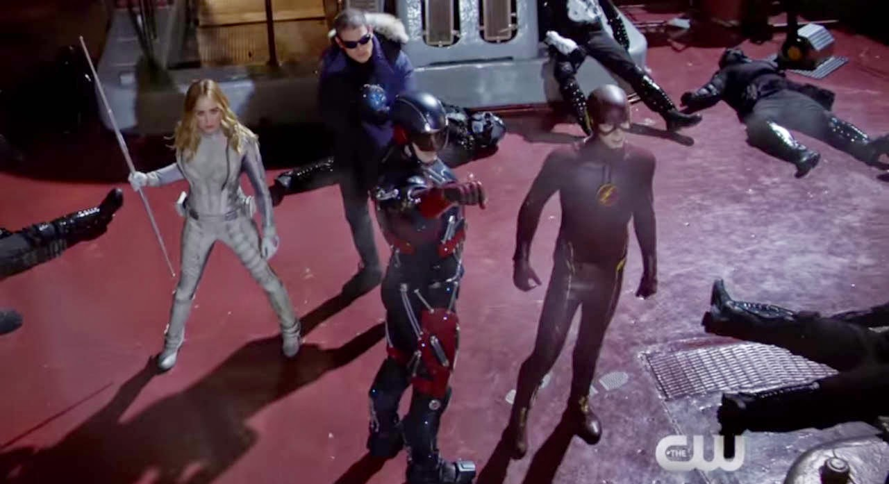 DC's Legends of Tomorrow is DC Television Universe Justice Society of America Live Action