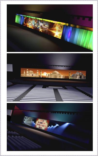 Escenografías diseñadas para distintas galas
