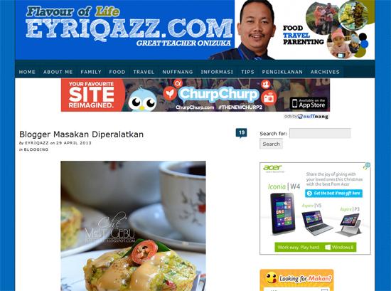 Majalah dan wartawan curi gambar dan artikel blogger