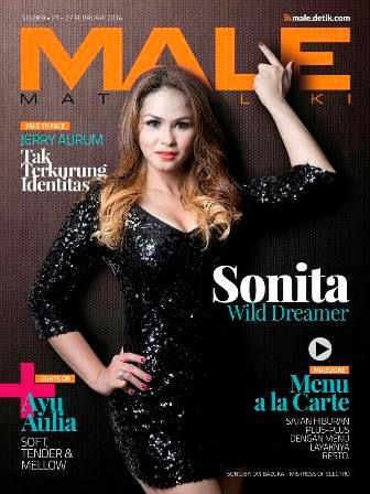 Majalah MALE Mata Lelaki 069 Sonita - Searching a Warm Heart