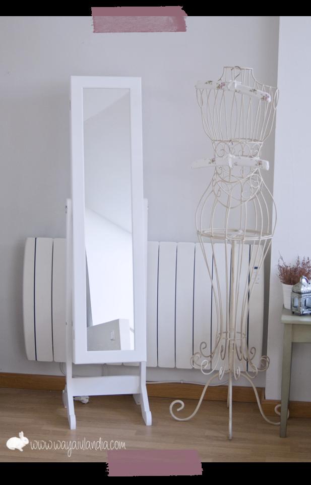 Mi nuevo espejo joyero y tienda vintage en gij n wayaiulandia - Espejo con almacenaje ...