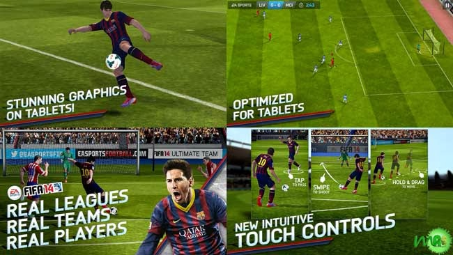FIFA 14 by EA SPORTS™ android full version screenshot