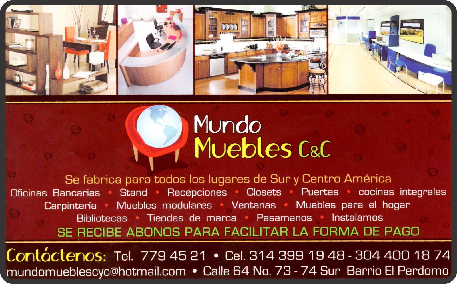 Edb el directorio del barrio for Mundo muebles
