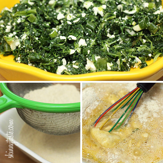 ... spinach quiche easy crust less spinach and crustless spinach feta pie