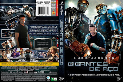 Gigantes de Aço DVD Capa