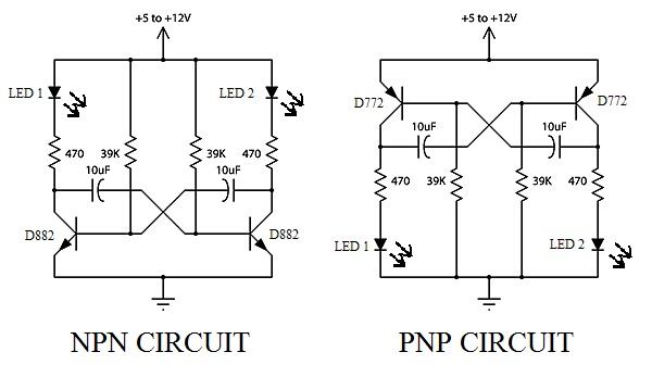 basic mini project  flasher