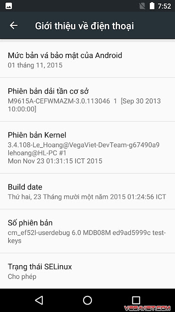 Download Android 6.0 Marshmallow CM13 cho sky a870