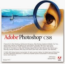 Adobe PhotoShop CS 8.0 (1 cd)