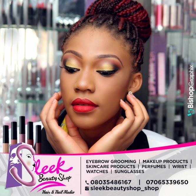 GET GLAM WITH SLEEK BEAUTY SHOP