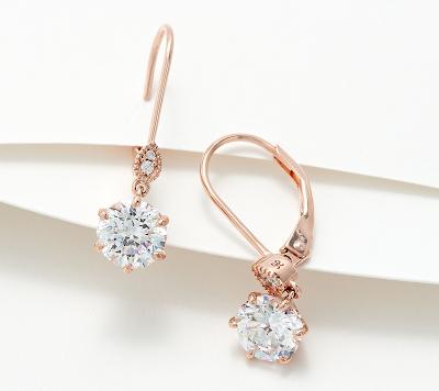 Diamonique Earrings
