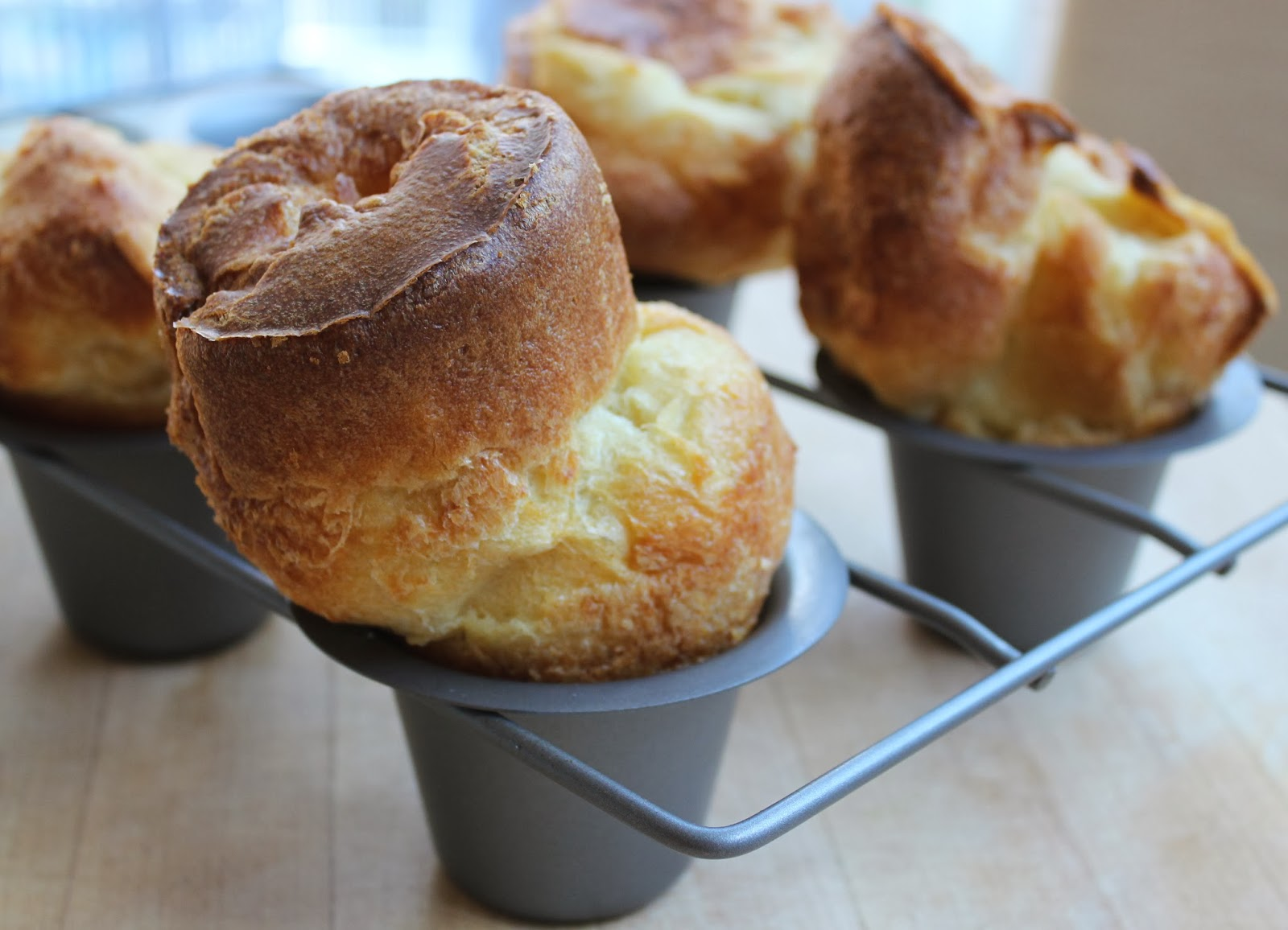 Popovers with Strawberry Butter - Lindsey McClave