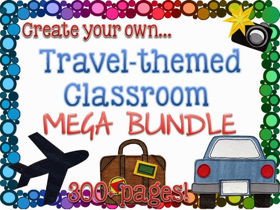 Classroom Decor Travel ~ Joy in the journey a travel themed classroom