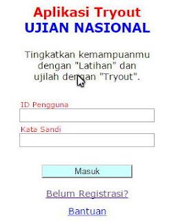 Aplikasi Try Out Ujian Nasional