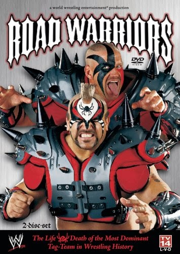 WWE DVD cover Road Warriors LOD 2000