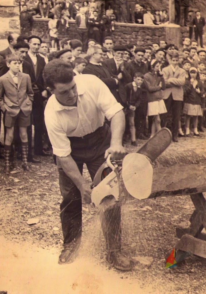Motosierra Stihl Antigua - Vintage/Old Stihl CONTRA Chainsaw