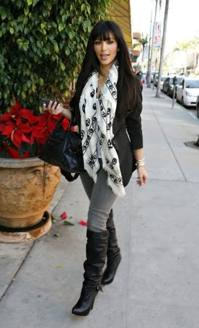 Celebrity Style and Fashion: Alexander McQueen Skull Scarf ...
