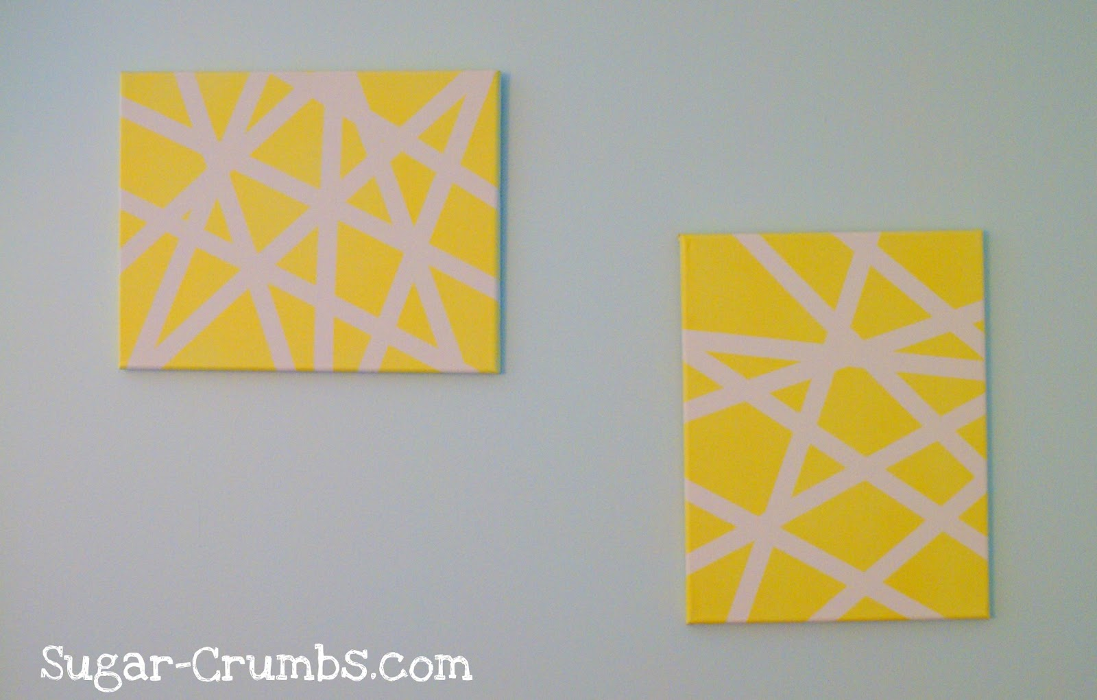 Sugar Crumbs: Pinterest Pick: Masking Tape Wall Art
