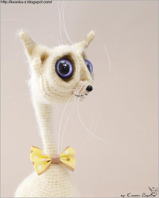 вязаный кот, амигуруми, Amigurumi, crochet cat, crochet toy