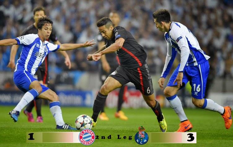 Preview: Bayern Munich vs FC Porto (Agg 1-3)
