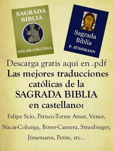 Descargar las mejores Biblias católicas en pdf