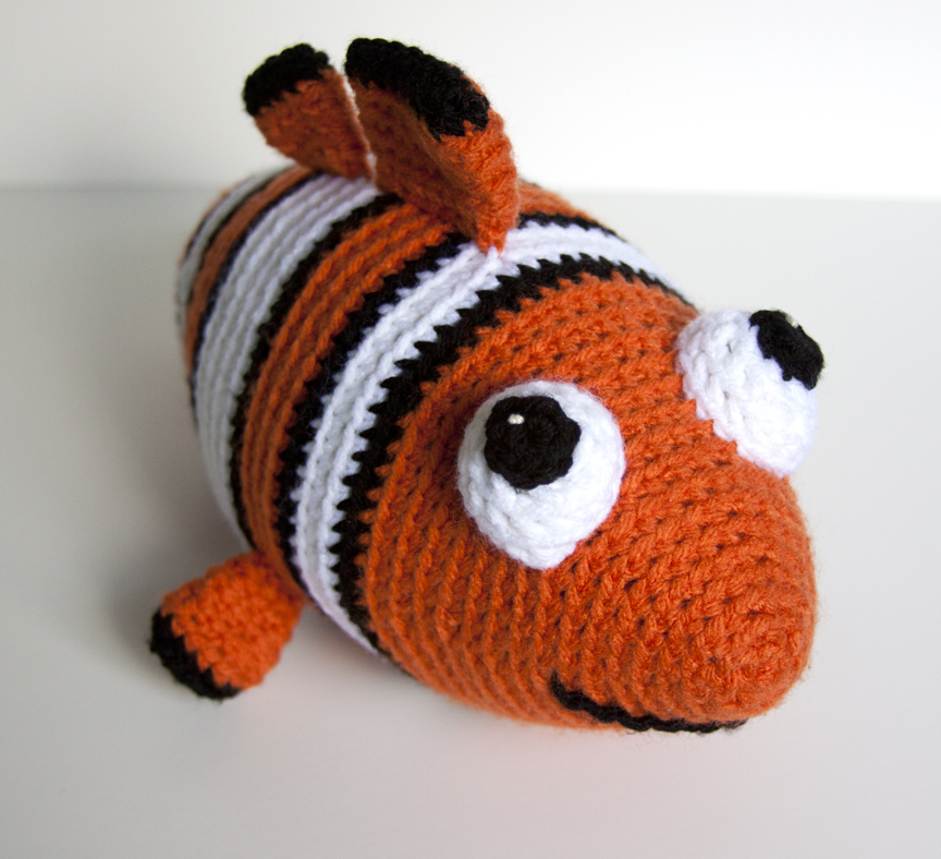 Amigurumi Sailor Octopus Pattern Free : Show and Tell Meg: Crochet Update: Its Nemo!