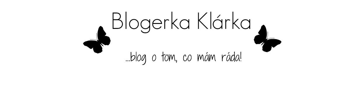 Blogerka Klárka