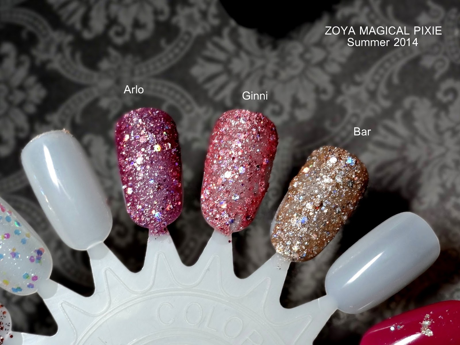 ZOYA Magical Pixie Summer 2014 Collection Review, Photos & Swatches