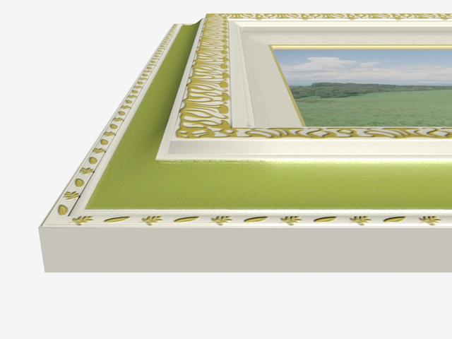 アートフレーム(額縁) - art frame 3D objects