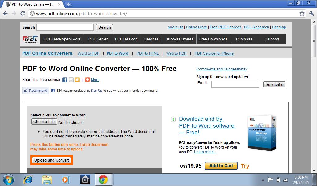 adobe pdf to word online