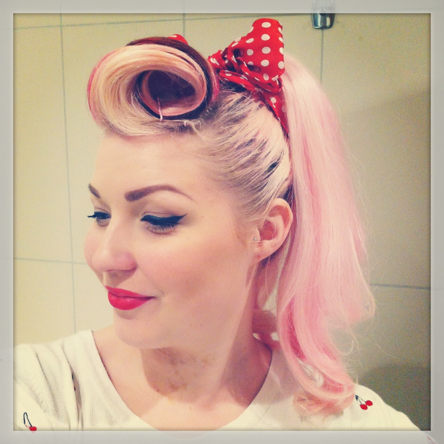 Diablo Rose Pin Up Style Inspiration For Long Hair