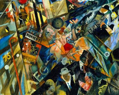 George Grosz  - Tempo der Straße,1918