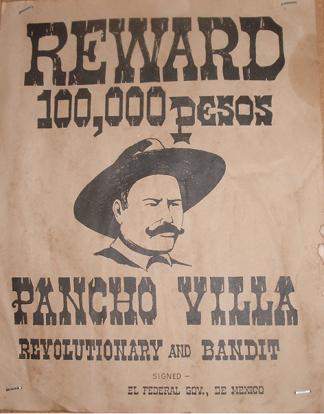 Original Pancho Villa Poster