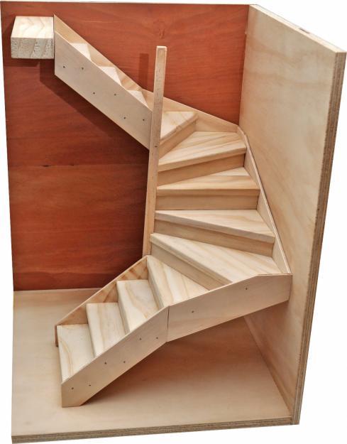 Barandas y escaleras abarco carpinter a y ebanisteria - Fotos en madera ...