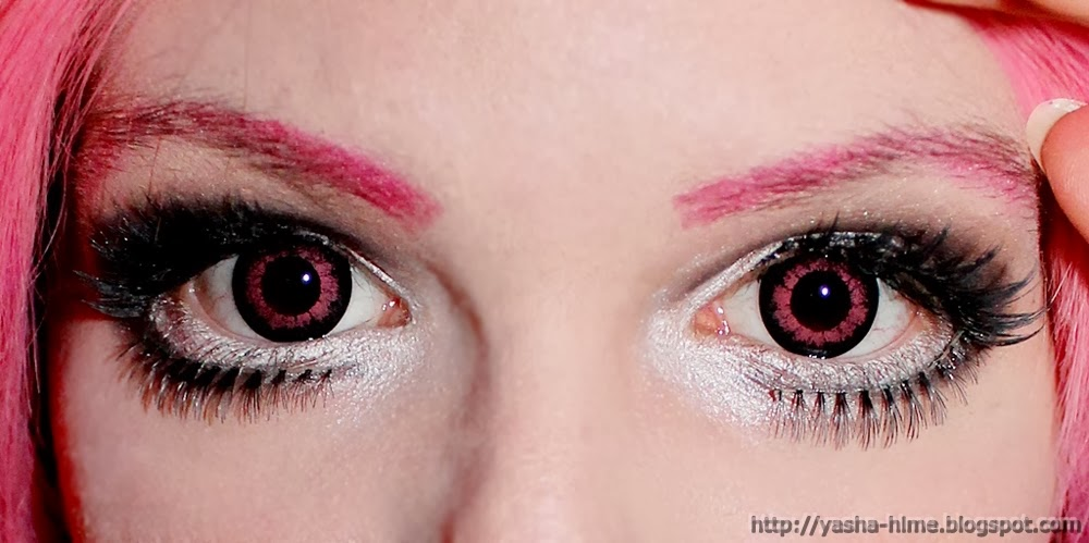 I.Fairy Lumos Pink colored contacts