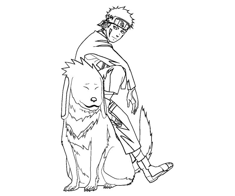 kiba coloring pages - photo#3