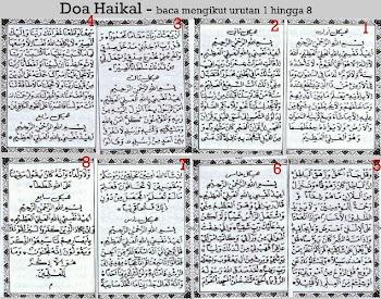 Doa Haikal
