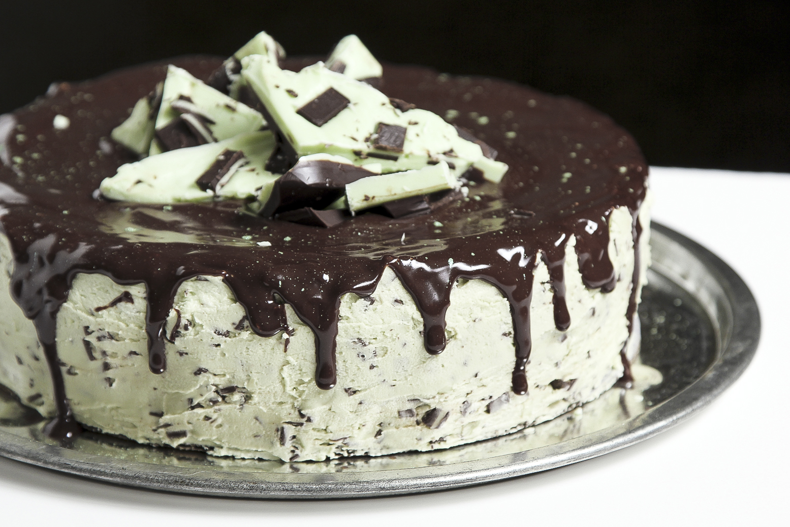 Life Made Simple: Andes Mint Chocolate Chip Cake