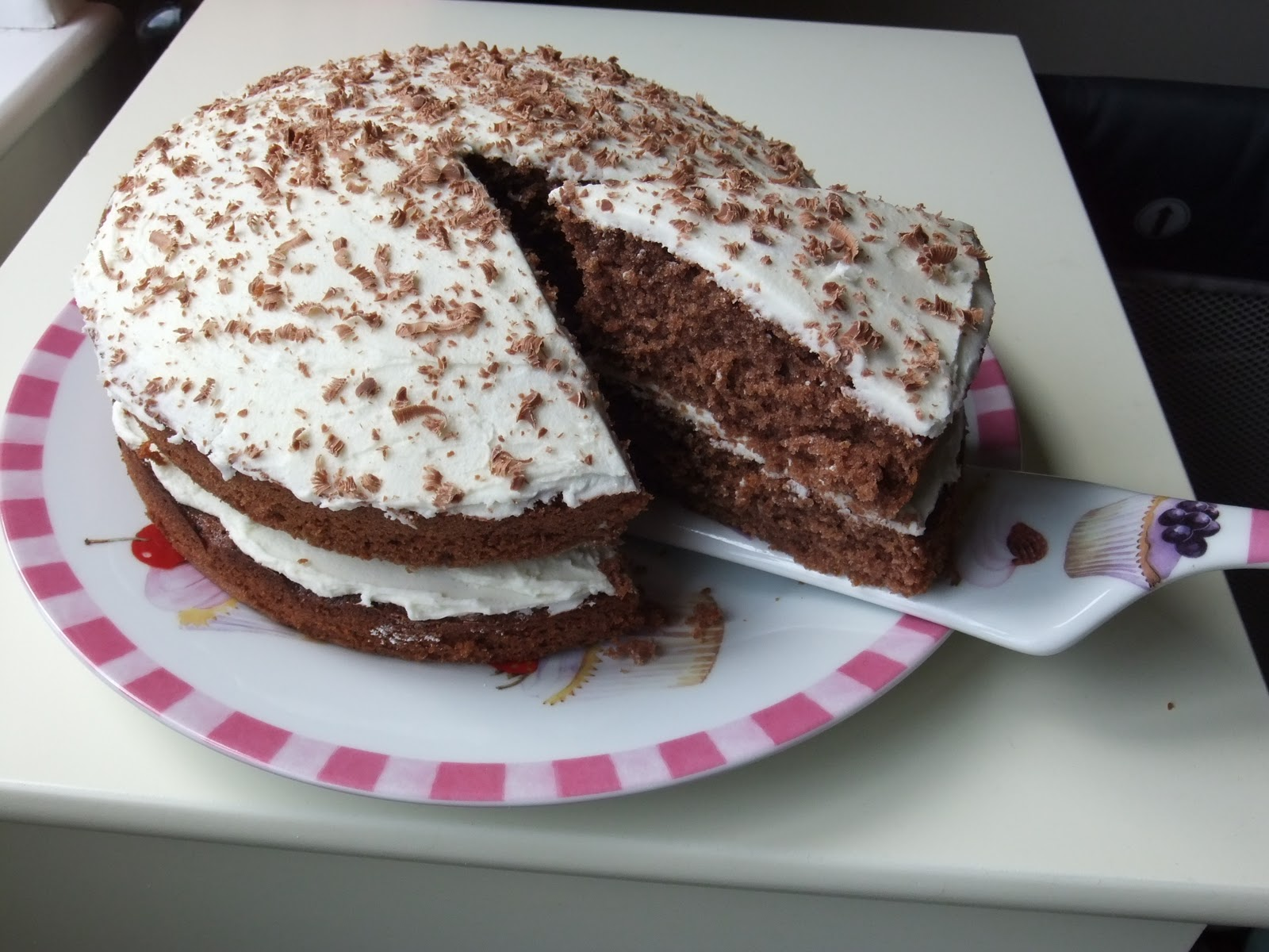 rising to the berry chocolate victoria sandwich