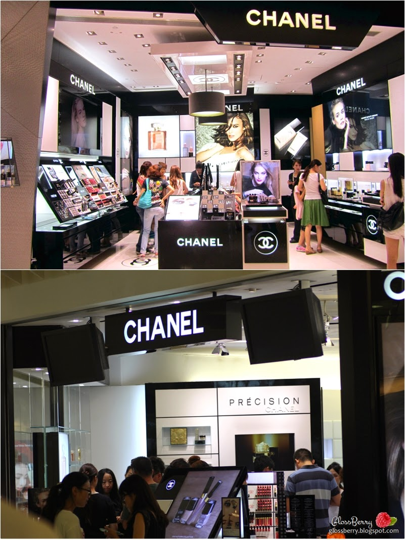chanel beauty makeup hong kong קניות איפור בהונג קונג