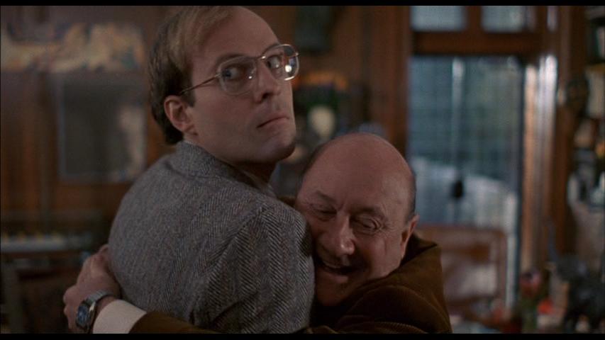 Dwight Schultz and Donald Pleasence in Alone In The Dark (1982)