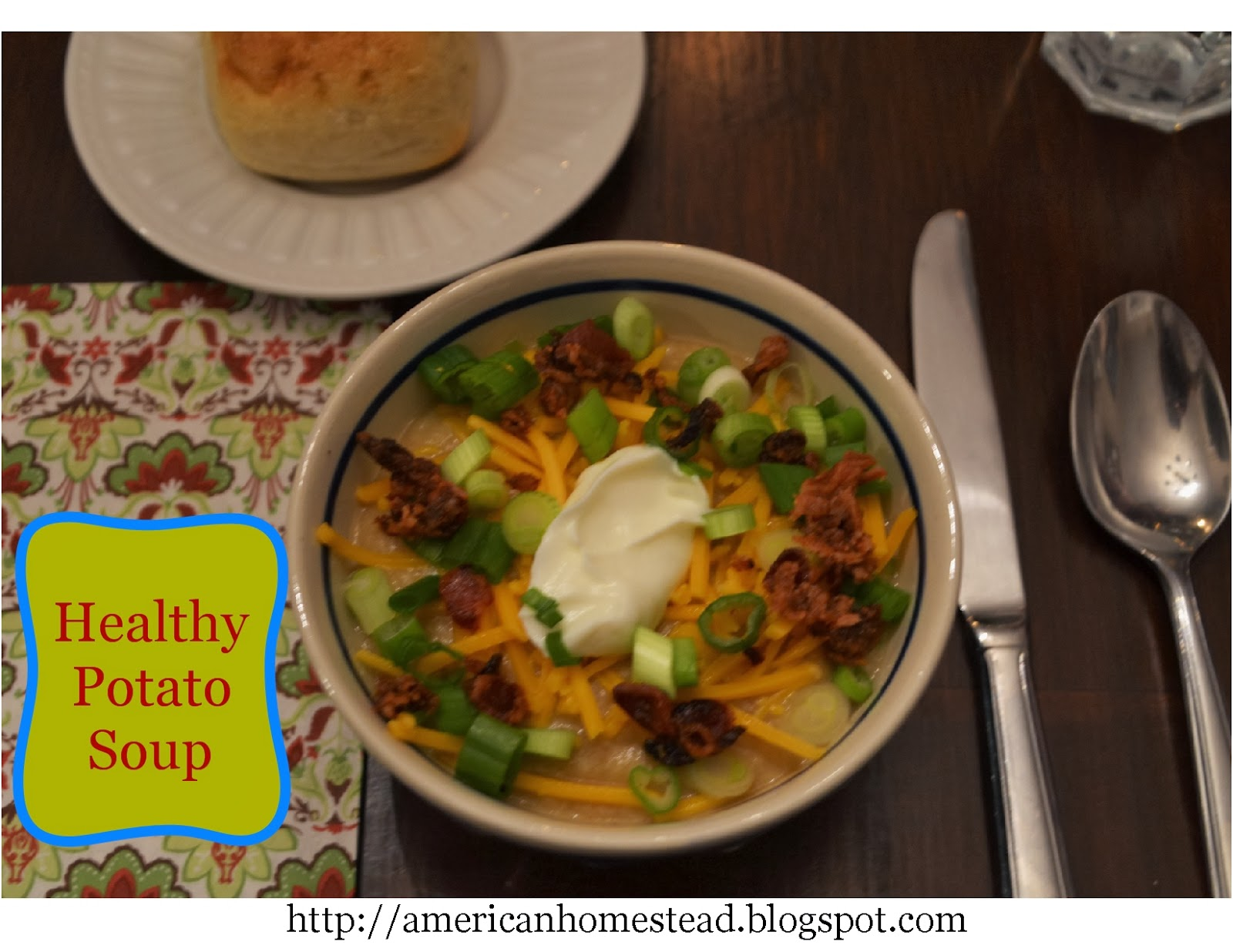 Elleu0027s Kitchen: Healthy Potato Soup