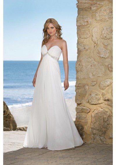 Beauty beautiful beach wedding dresses for Gorgeous beach wedding dresses