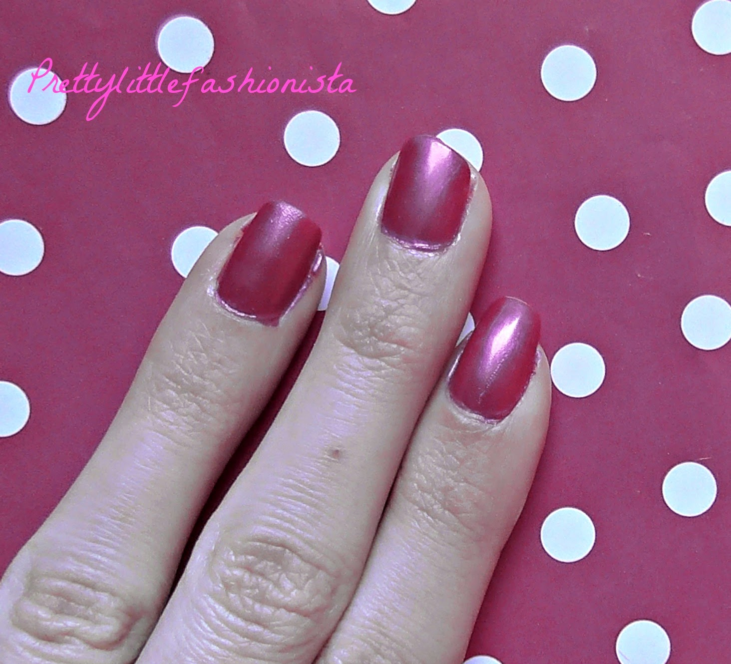 NOTD: Revlon Wild Strawberry